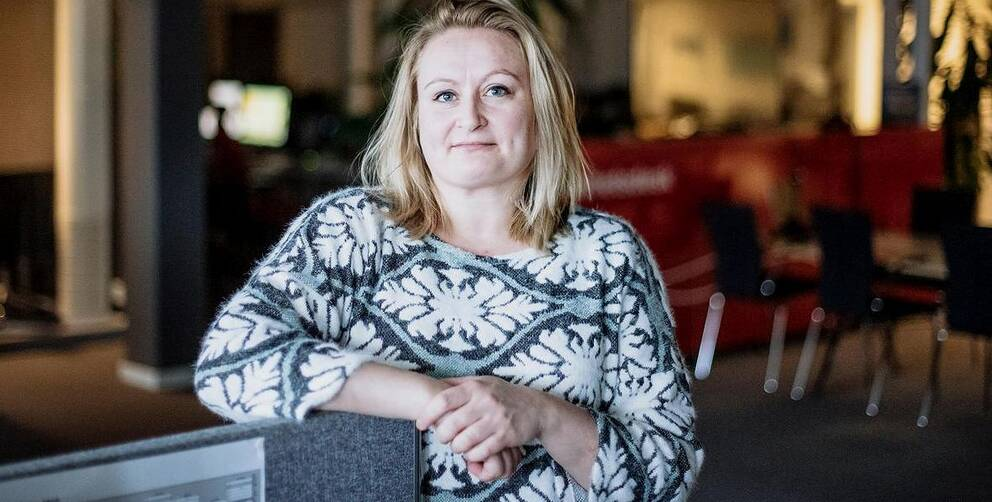 Sandra Bygdén Shameh, ÖAs nya chefredaktör.