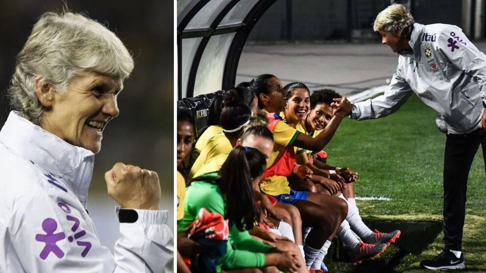 Pia Sundhages Brasilien besegrade Argentina i en vänskapsmatch.