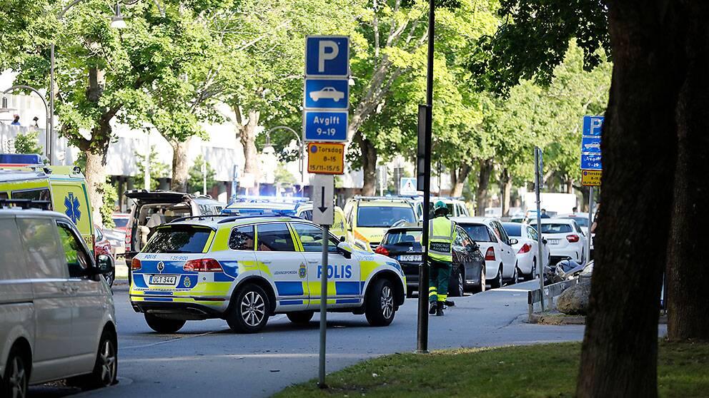 Två män sköts i Sollentuna tidigare i somras