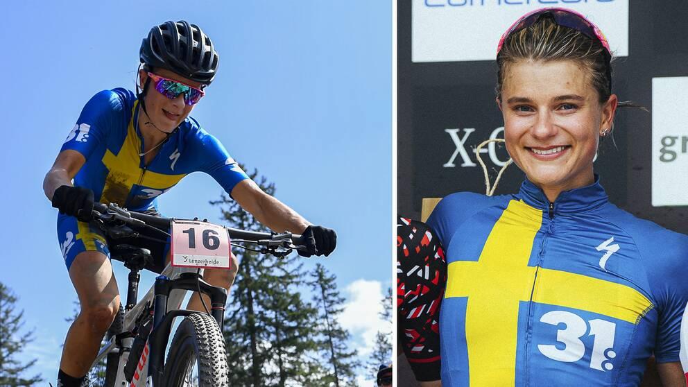 Jenny Rissveds tävlar i mountainbike-VM i Kanada – ett lopp som sänds i SVT.
