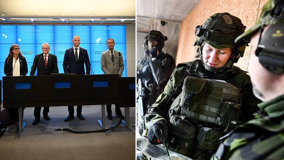 """Försvarspolitikerna om uppgörelsen: """"Det är en styrka när vi kan göra breda överenskommelser"""