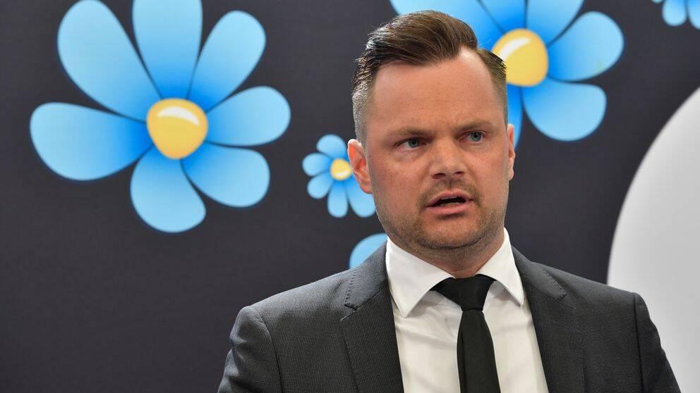 Sverigedemokraternas rättspolitiska talesperson Adam Marttinen