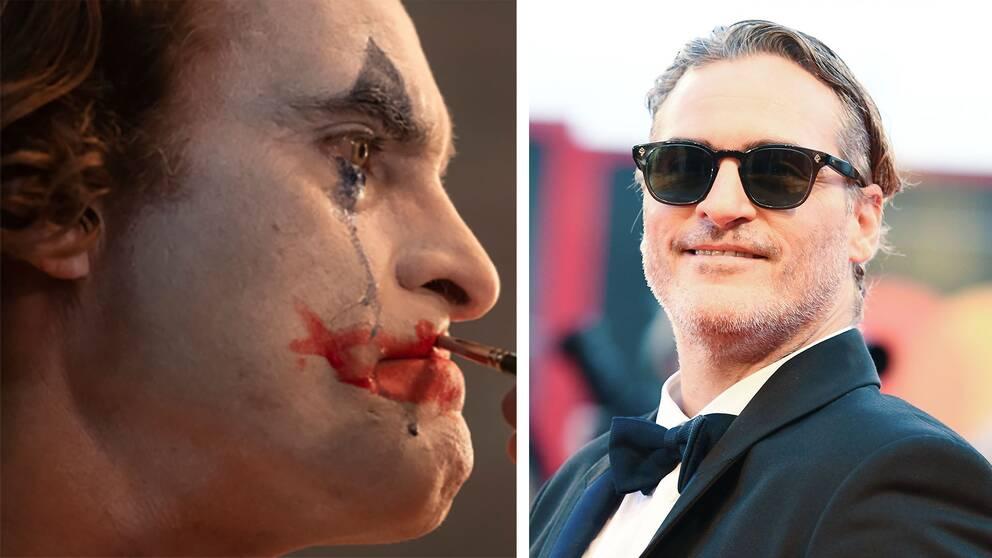 Joaquin Phoenix spelar jokern i Joker