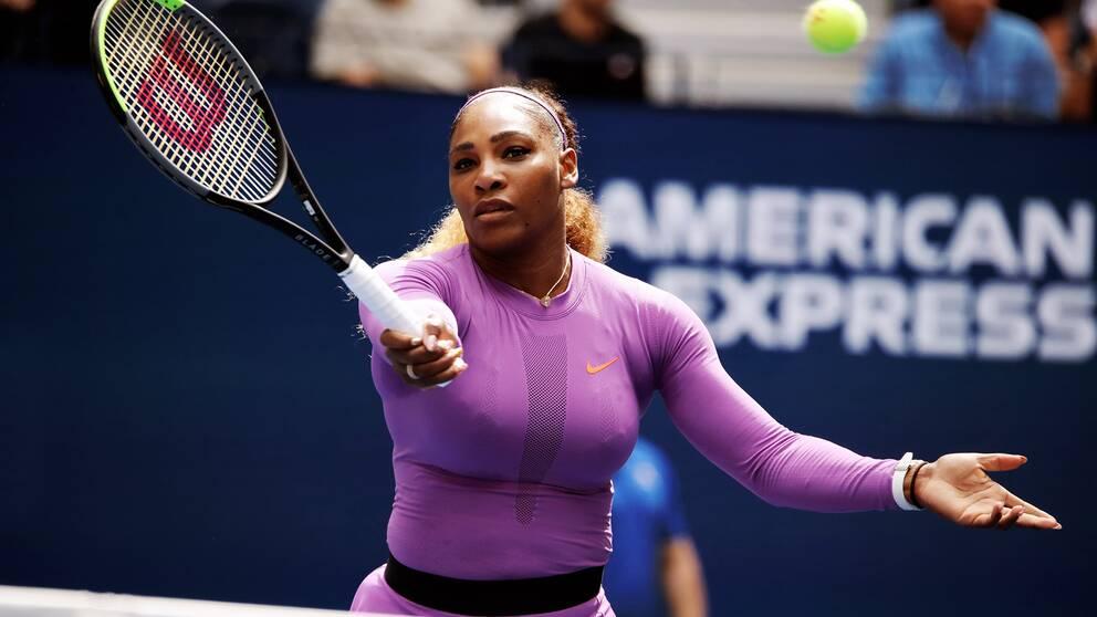 Serena Williams under US Open.