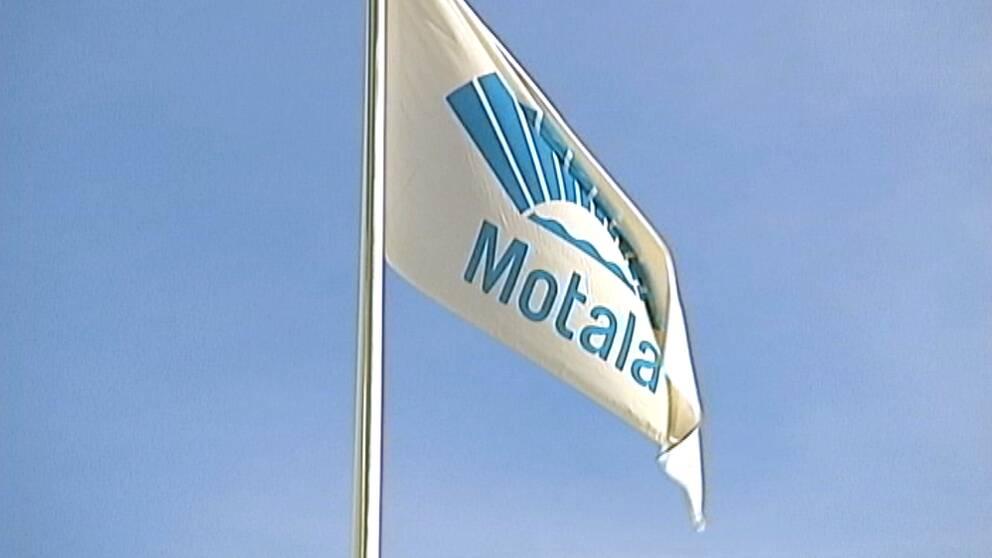 Motala kommuns flagga