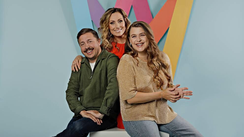 David Sundin, Lina Hedlund och Linnea Henriksson leder Melodifestivalen 2020.