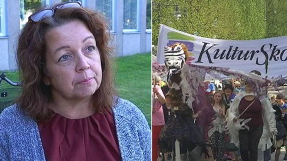 Marit Enbuske, skolchef i Luleå