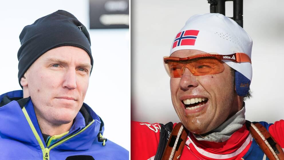 Björn Ferry sörjer Halvar Hanevolds död.