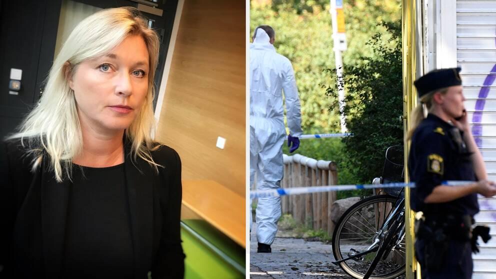 Anna Palmqvist, åklagare.