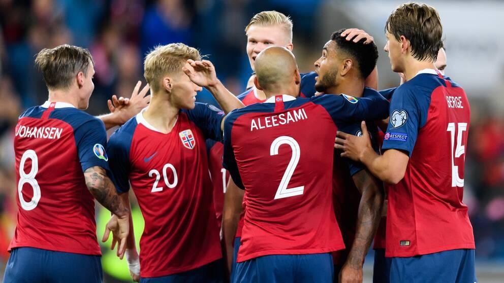 Norge besegrade Malta med 2-0 i EM-kvalet