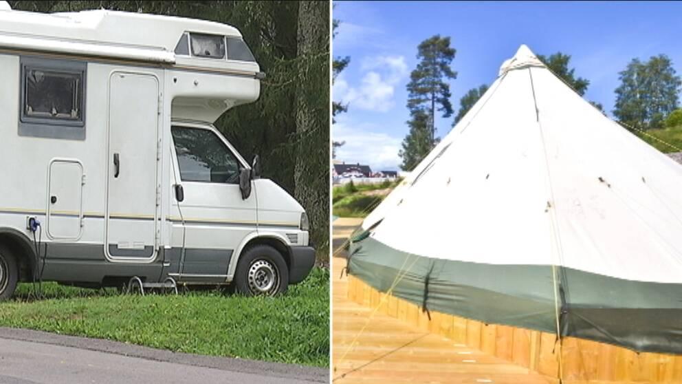Prisläget på den svenska kronan och flygskam kan vara tänkbara anledningar till att campingnätterna ökar.