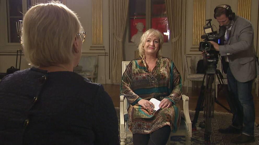 Erika Bjerström intervjuar Margot Wallström 2017