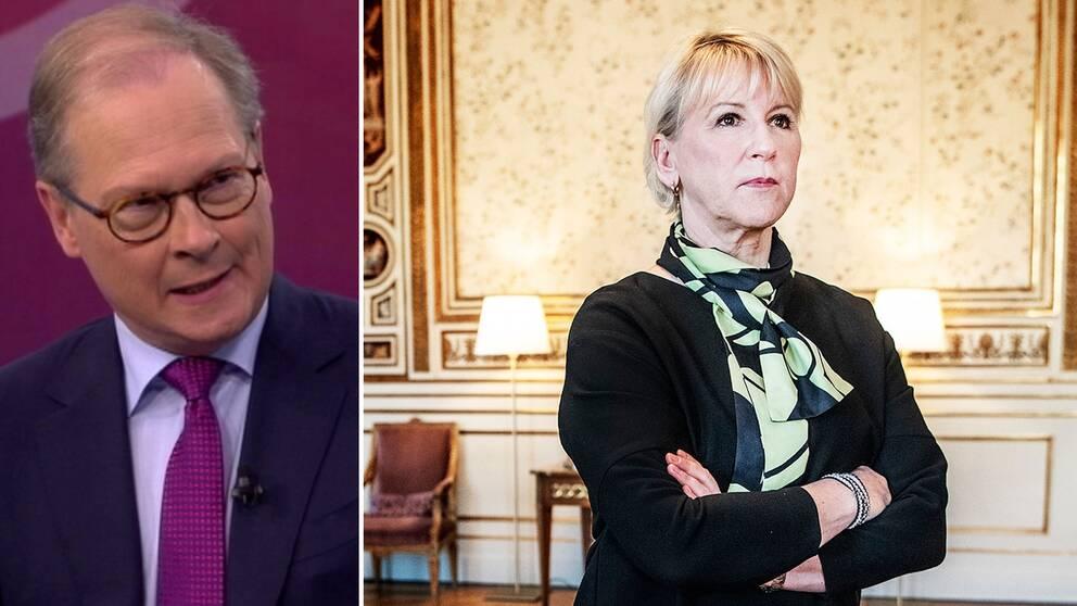 SVT:s Mats Knutson: Wallström hade en ideologisk aktivism i mycket av det hon sa
