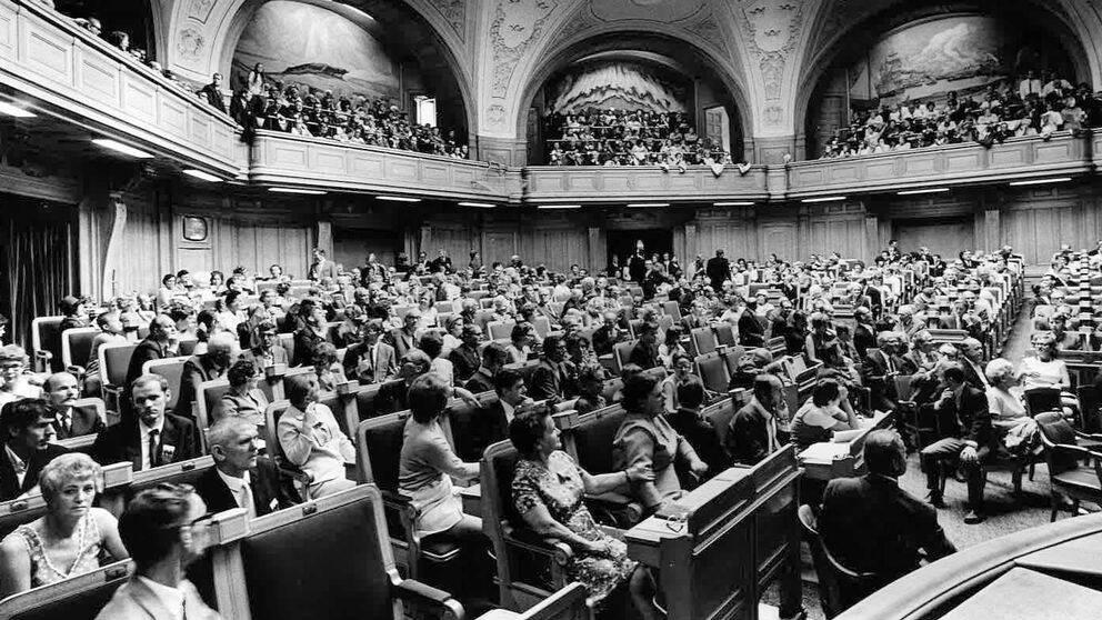 I lördags var det precis 50 år sedan Dövas Riksdag ägde rum.
