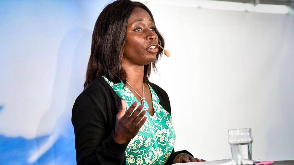 Arkivbild: Liberalernas partiledare Nyamko Sabuni.