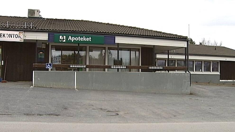 Bild på apoteket i Föllinge