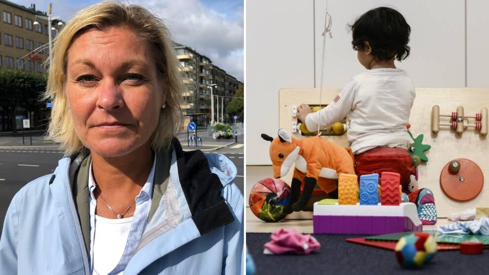 Kristina Palmgren (L). 1:e vice ordförande förskolenämnden Göteborg