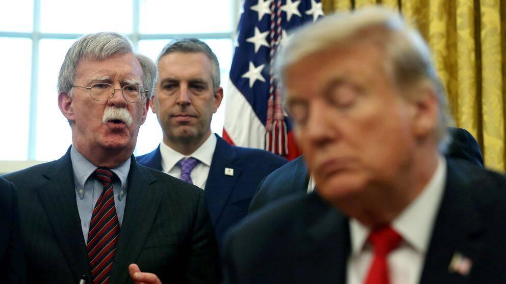 Vita husets nationella säkerhetsrådgivare John Bolton har avskedats av Donald Trump.