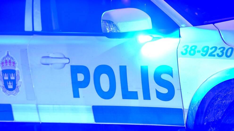 Bild på polisbil