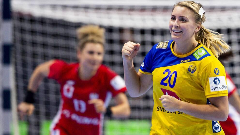 Isabelle Gulldén vill vara tillbaka 100 procent till VM senare i år.