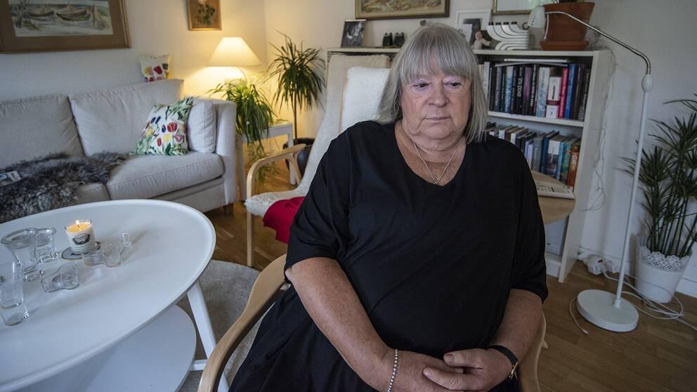 Johan Asplunds mamma Anna-Clara