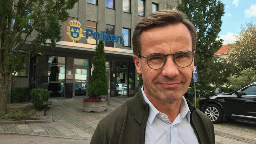 Ulf Kristersson partiledare (M)