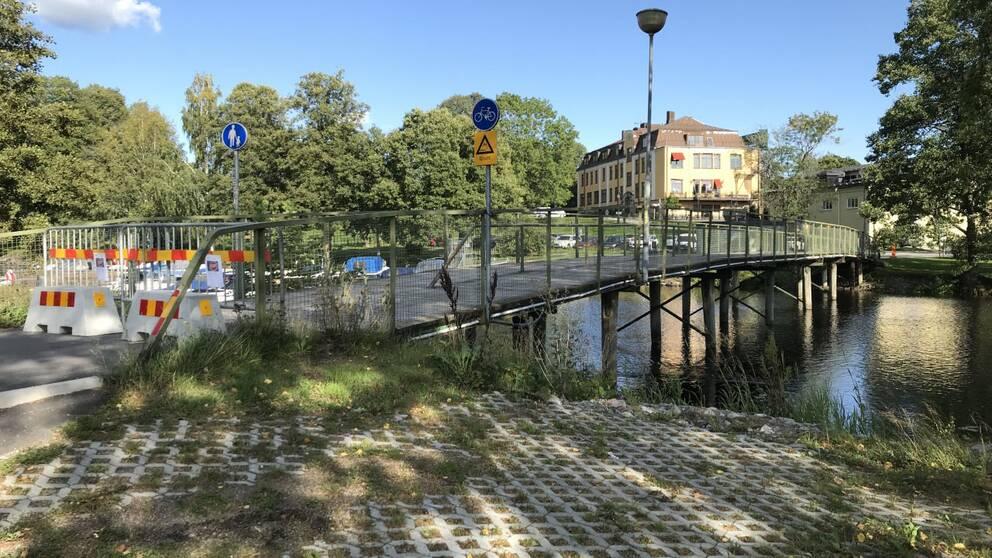 Gröna bron i Lindesberg.