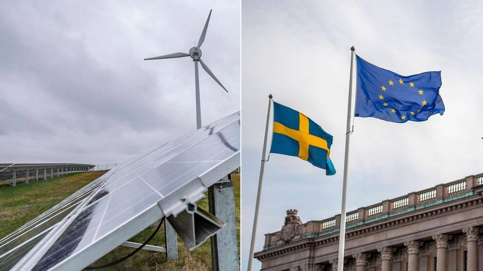 Att EU-valrörelsen nu har klingat av helt kan vara en av orsakerna till att miljö- och klimatfrågor inte längre anses vara lika viktiga, analyserar SVT:s inrikespolitiske kommentator Mats Knutson.