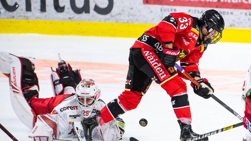 Luleå vann SDHL-premiären mot Modo med 3-0.