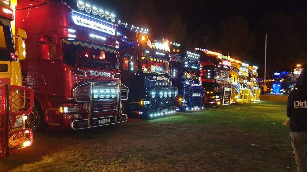 Lastbilsträff i Ramsele