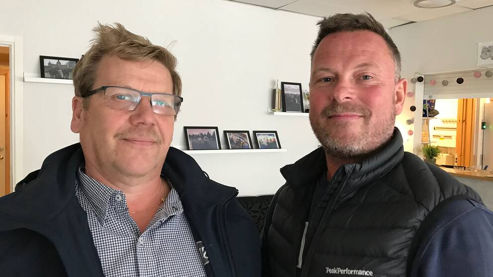 Kari Lehto och Lasse Bergström