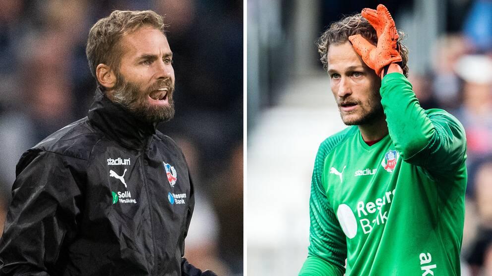 HIF-målvakten Anders Lindegaard hyllar nye tränaren Olof Mellberg.