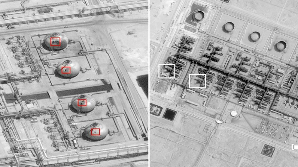 Saudiska koalitionen: Attacken utfördes med iranska vapen