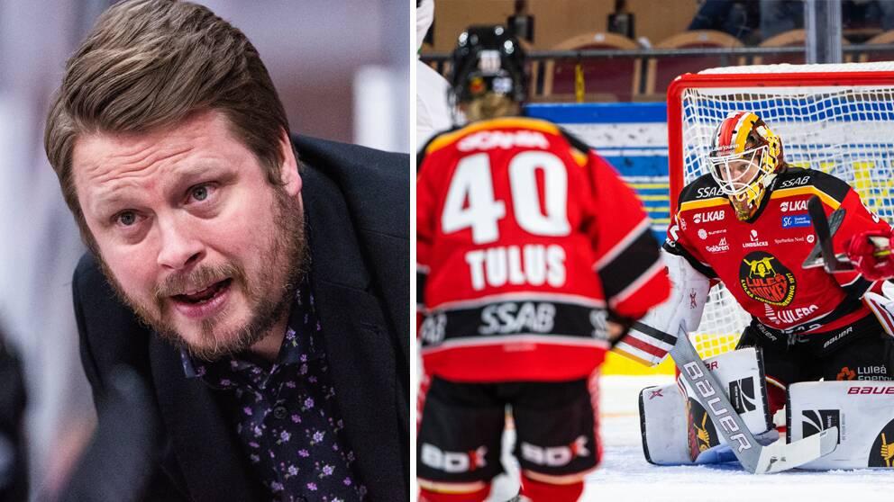 Fredrik Glader lämnar jobbet som tränare för Luleå i SDHL.