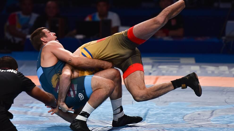 Alexander Bjurberg Kessidis förlorade VM-finalen.