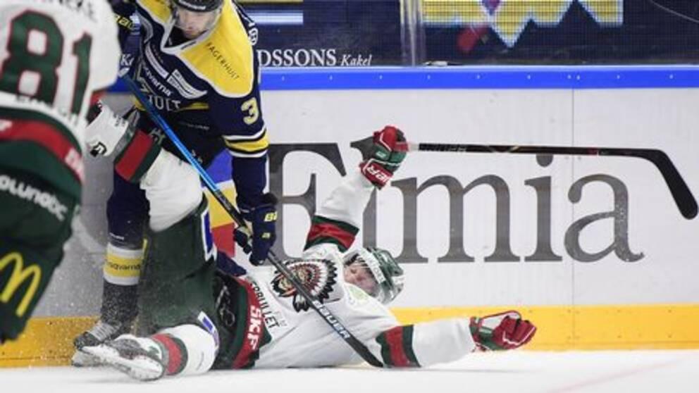 Två raka förluster. Det ska kallas för vad det är – en tung start på säsongen för Frölundas regerande svenska mästare. För HV71 var segern i hemmapremiären ett lyft efter det misslyckade besöket i Ängelholm i premiären.