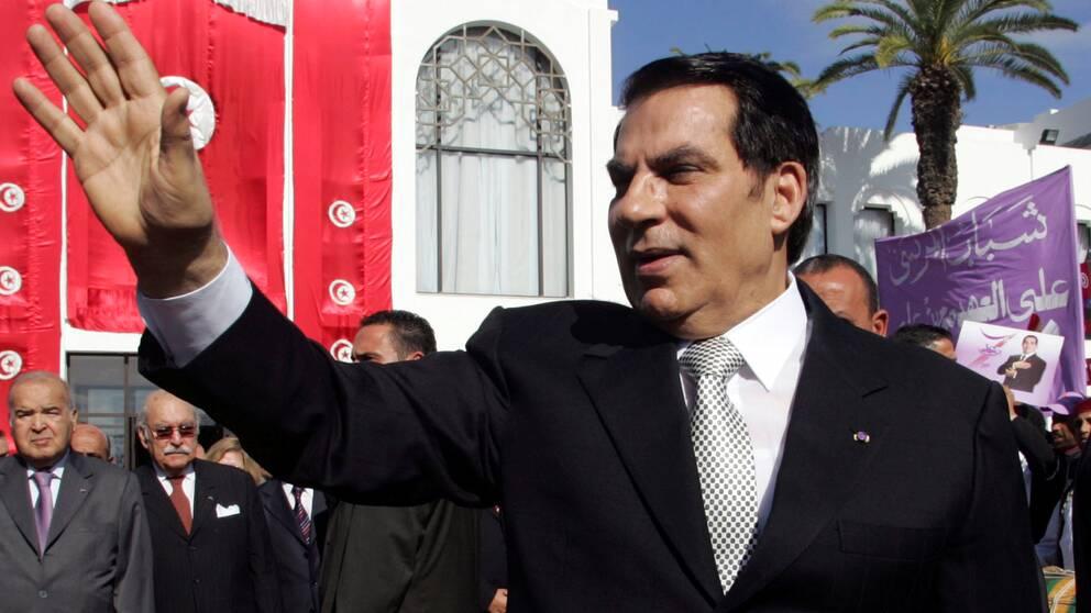 Zine al Abidine Ben Ali som tidigare var diktator i Tunisien har dött i exil.