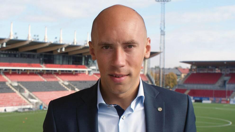 ÖSK:s vd Simon Åström