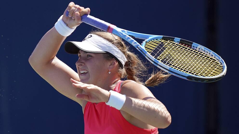 Rebecca Peterson vann i comebacken.