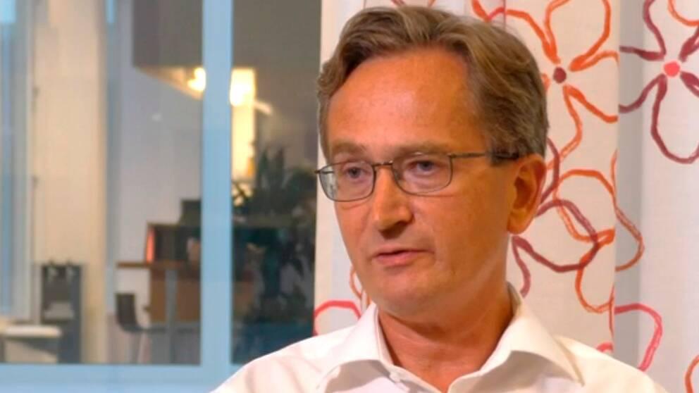Joakim Dillner, professor i infektionssjukdomar.