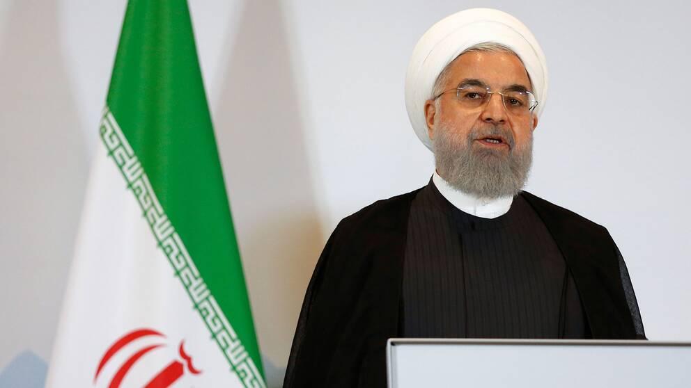 Irans president Hassan Rohani