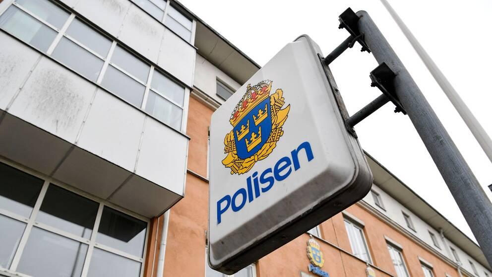 Polishuset i Karlskrona.