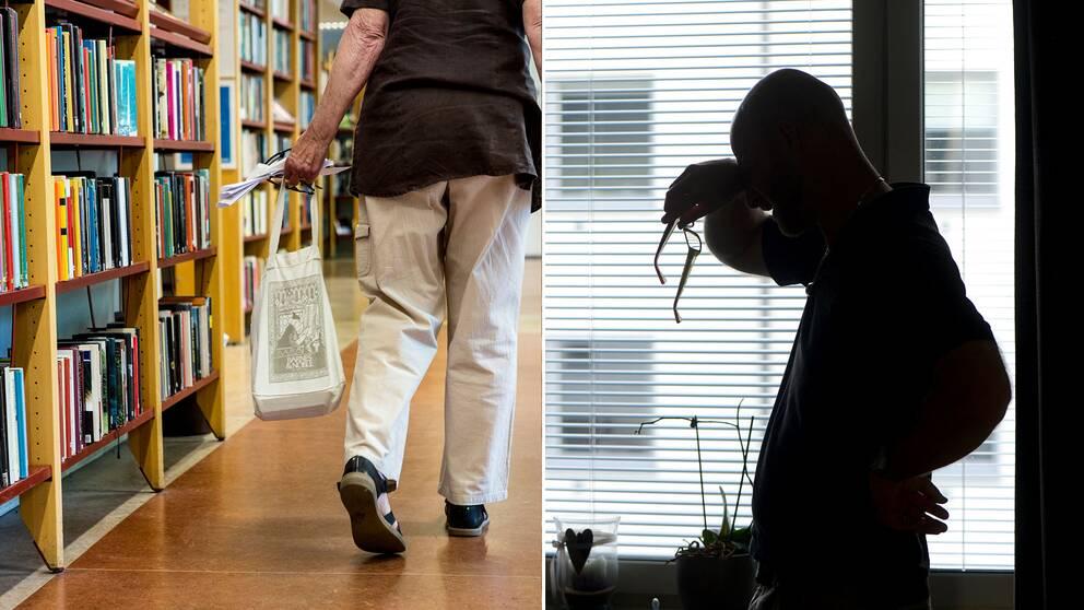 Våldsamma incidenter har ökat på bibliotek, enligt de svarande i en ny undersökning. Hör Stina Hamberg, samhällspolitisk chef på DIK, berätta om händelserna i klippet ovan.