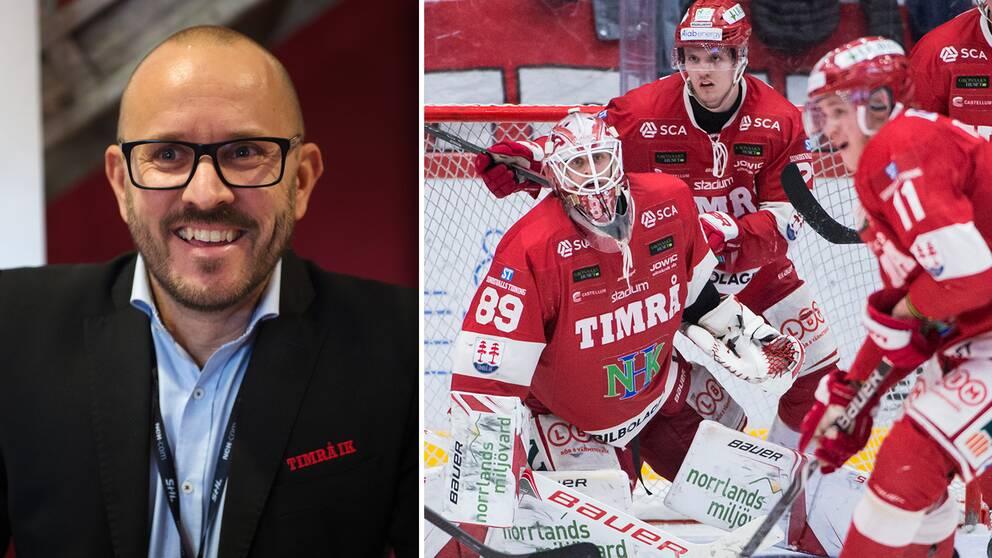 Timrå IK sparkar klubbchefen Jörgen Wahlberg med omedelbar verkan.