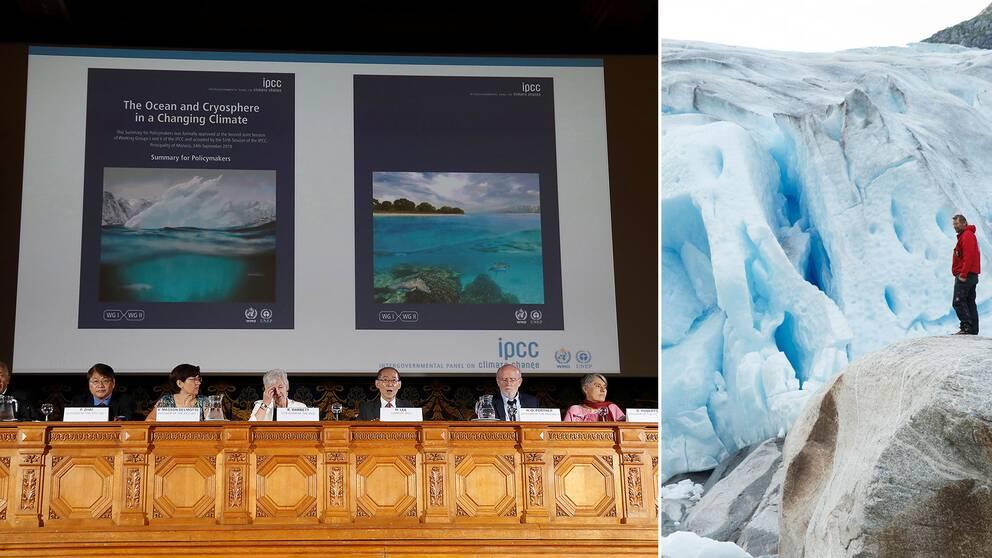 FN:s klimatpanel IPCC presenterar sin nya rapport.