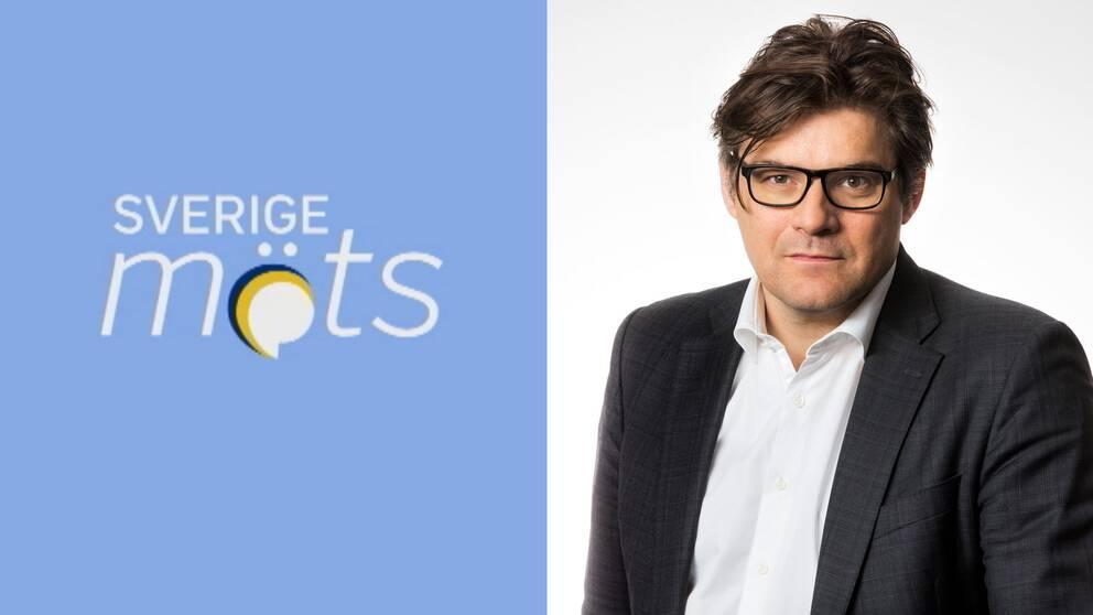 SVT:s programdirektör Jan Helin försvarar Sverige möts.