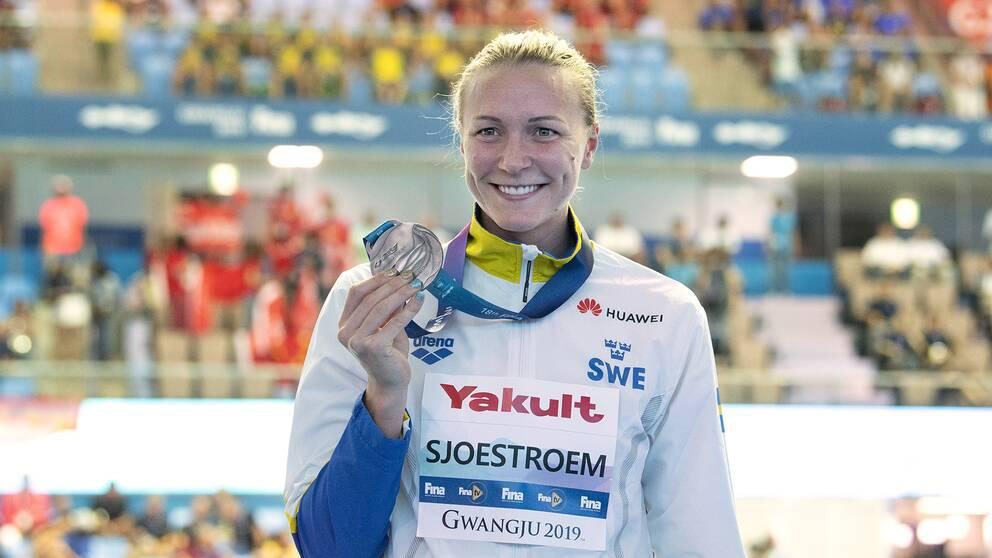 Sarah Sjöström står över kortbane-EM.