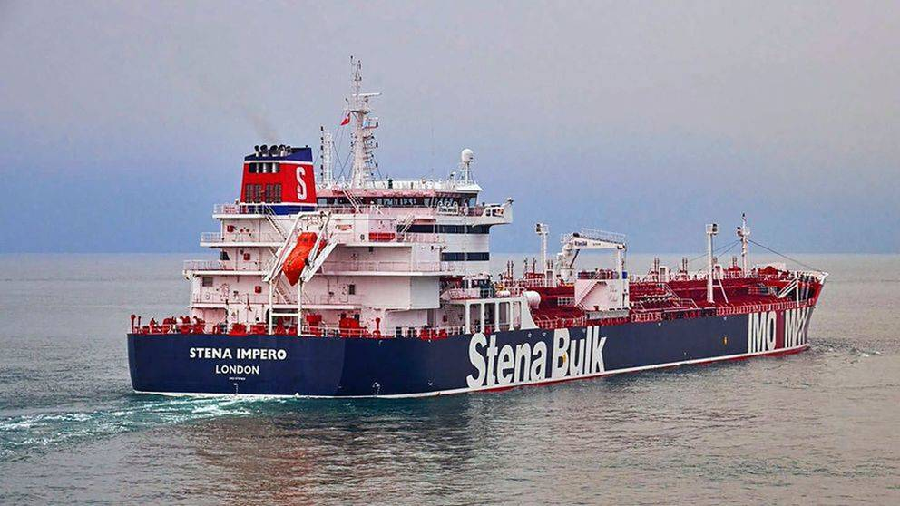 Stena Impero har lämnat hamnen i Iran