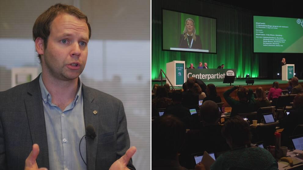 """Rickard Nordin (C): """"Vi ska självklart betala den som tar bort koldioxid ur kretsloppet"""""""