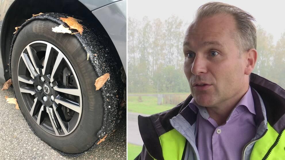 Vägen skulle inte öppnats menar projektledaren på Trafikverket Fredd Larsson.